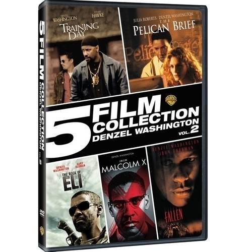 5 Film Collection: Denzel Washington, Volume 2 (DVD + Digital Copy With UltraViolet) (Walmart Exclusive) by