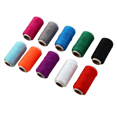 Clothes Crafting Stitching Sewing Thread Spool String Reel Assorted Color 10pcs - image 4 de 4