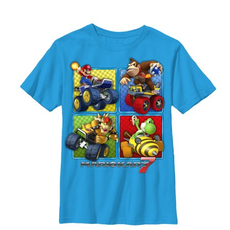 Nintendo Boys' Mario Kart 7 Top Players T-Shirt - Mario Kart Onesie