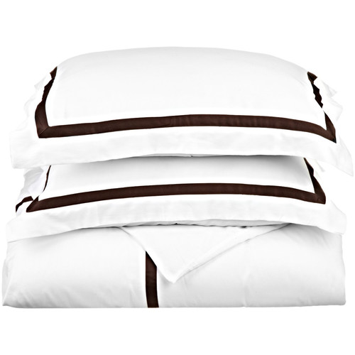 Simple Luxury Hotel Collection Duvet Cover Set