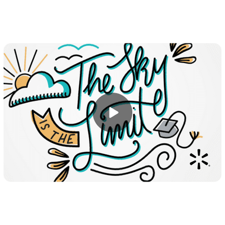 Sky's the Limit Walmart eGift Card