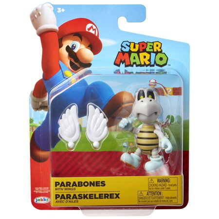 Super Mario Parabones Action Figure [with Wings]