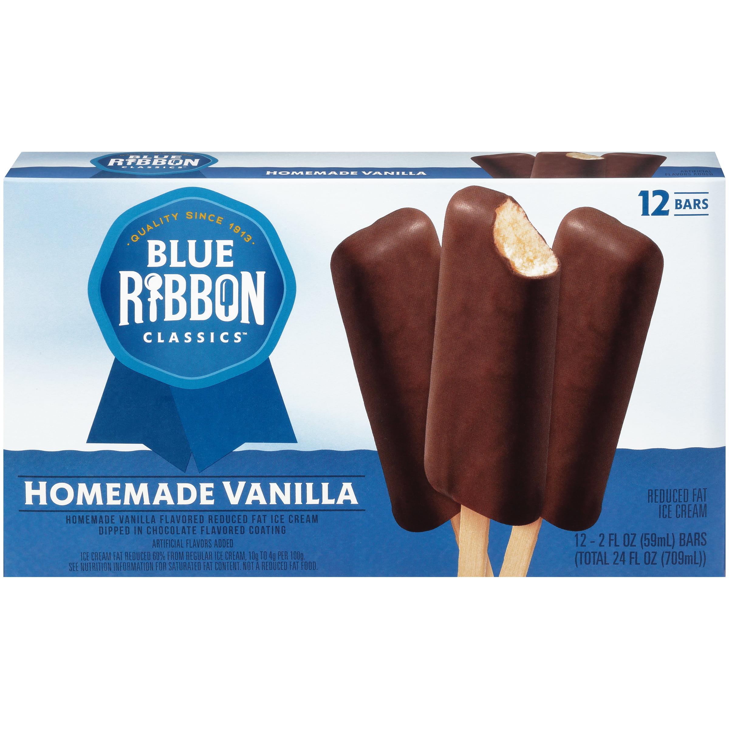 Blue Ribbon Classics Homemade Vanilla bar, 12 Count, 2 oz - Walmart.com