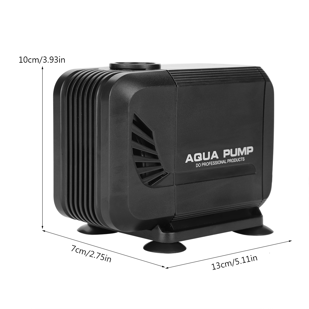 WALFRONT Fish Tank Aquarium Submersible Pump Fountain Pond Water Circulation 110V US Plug,Fish Tank Submersible Pump,Aquarium Water Pump - image 6 de 7
