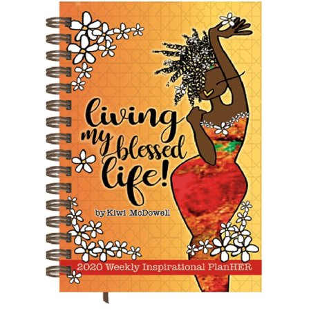 2020 Living My Blessed Life Weekly Planner, by Shades of Color ()