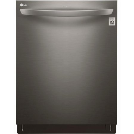 """LG LDT5665BD 24"""" Top Control Built-In Dishwasher with Stainless Steel Tub Black stainless steel"""