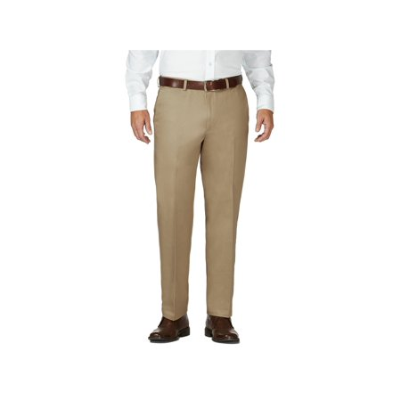Men's Work To Weekend® Khaki Flat Front Pant Classic Fit 41114957522