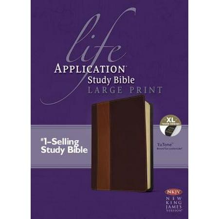 Life Application Study Bible-NKJV-Large Print (Large