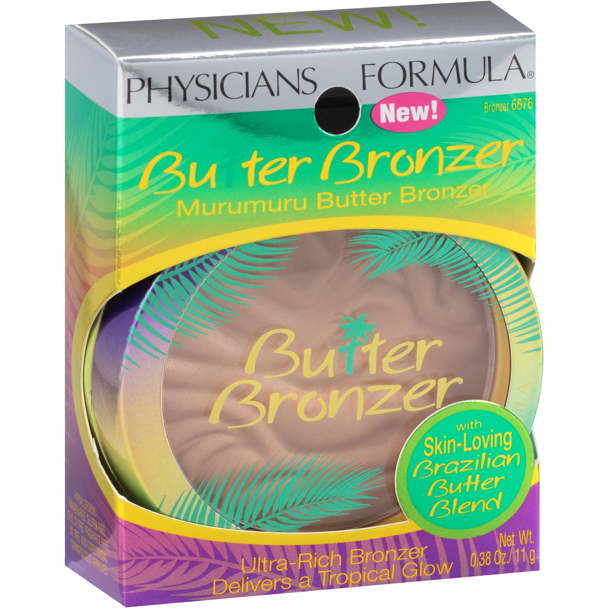 Physicians Formula Butter Bronzer Murumuru Butter Bronzer, 6676, 0.38 oz