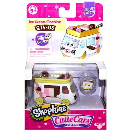 Ice Cream Machine Shopkins Die Cast Cutie Car QT4-03