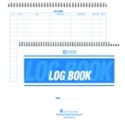 Hammond And Stephens Non Duplicating Wire-O Bound Security Log Book, 50 Sheets
