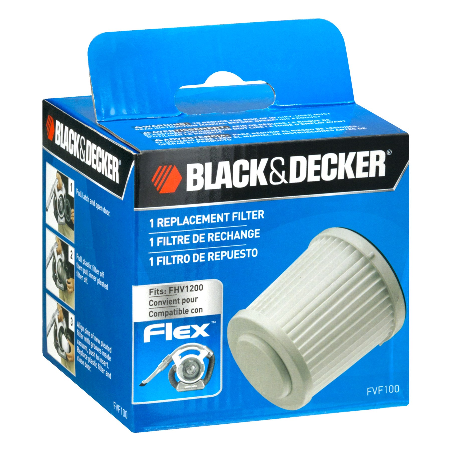 BLACK+DECKER™ FVF100 Replacement Filter for FHV1200 Flex Vacuum