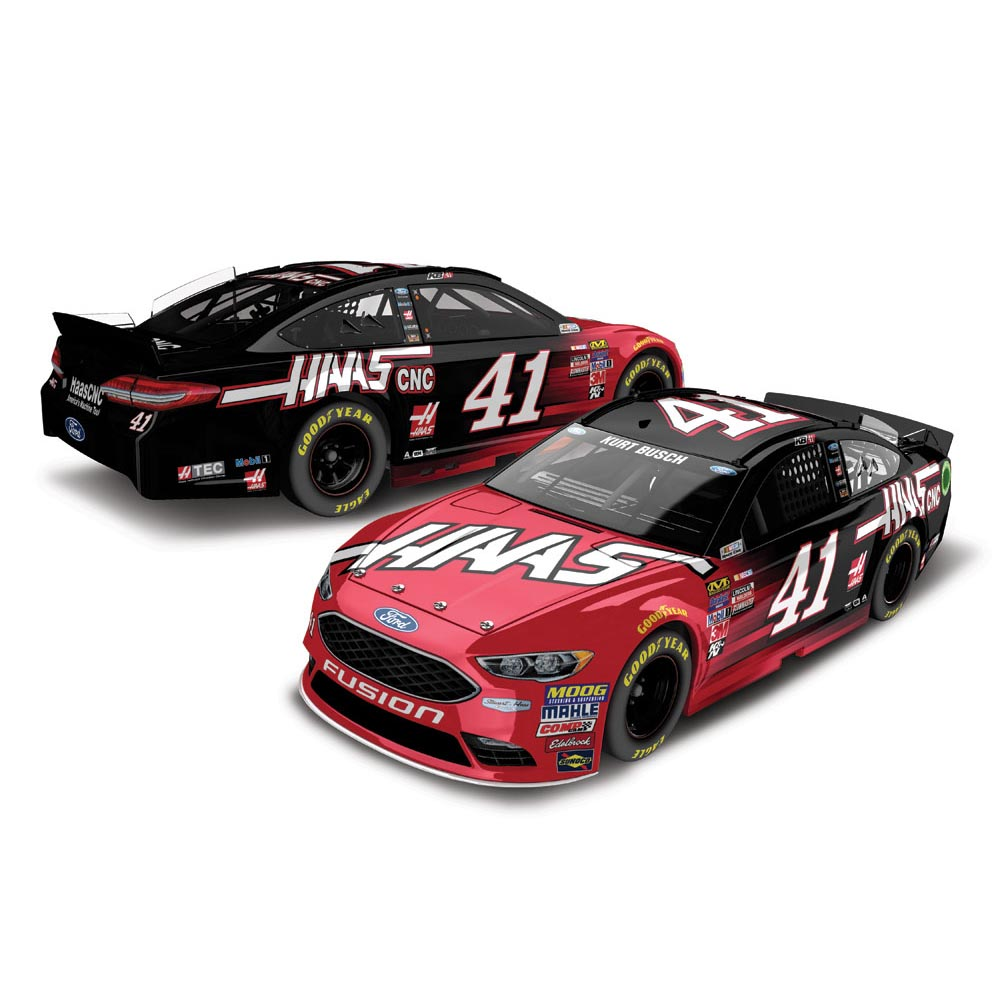 Kurt Busch Action Racing 2017 #41 HAAS 1:24 Monster Energy Nascar Cup Series Die-Cast Ford... by Lionel LLC