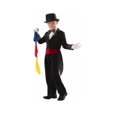 Halloween Costume Tailcoat (CHILD MAGICIAN TAILCOAT - LRG)