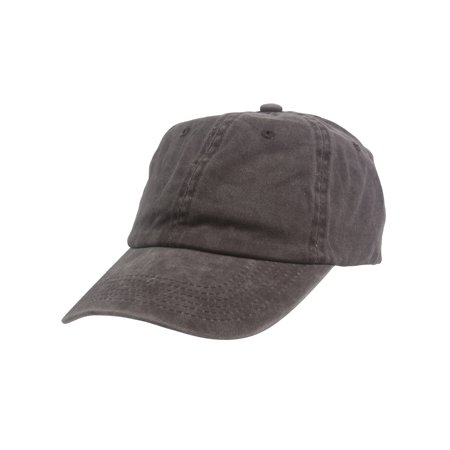 Pigment Dyed Baseball Cap (Top Headwear Pigment Dyed Low Profile Adjustable Baseball Cap)