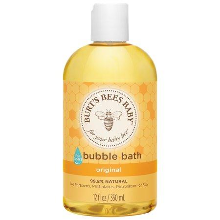 Burt's Bees Baby Bubble Bath, Tear Free Baby Wash - 12 oz Bottle - Bubble Bottle