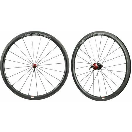 NOVATEC Road R3 Clincher Carbon Wheelset For SHIMANO SRAM CAMPY 8-11s