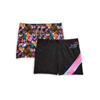 Jojo Siwa by Danskin Girls Active Shorts 2 Pack (Little Girls & Big Girls)