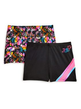 Jojo Siwa by Danskin Girls Active Shorts 2 Pack (Little Girls & Big Girls)