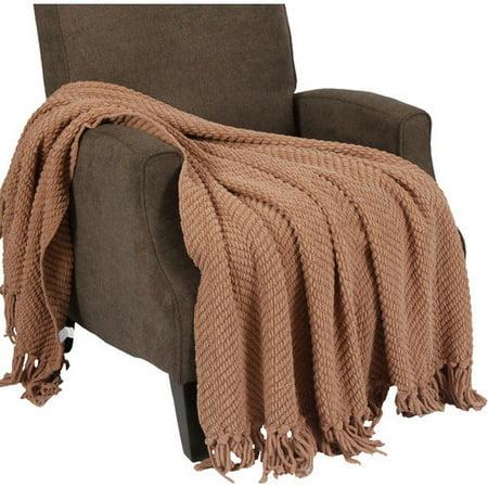 BOON Tweed Knitted Throw Blanket - Walmart.com