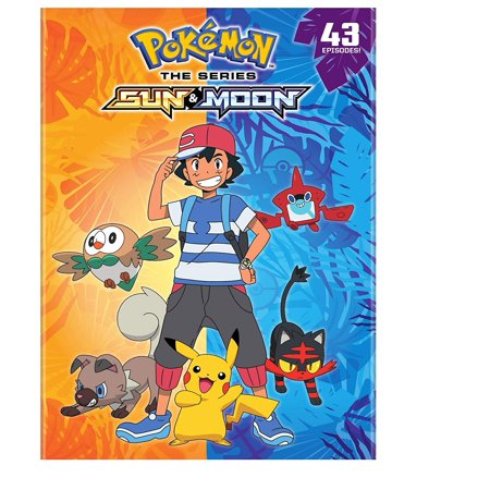 Pokemon Sun & Moon: The Complete Collection (DVD)