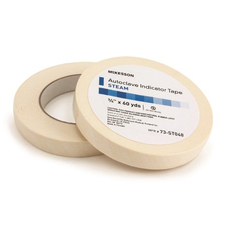 - McKesson Autoclave Indicator Tape - Steam - 73-ST048RL - 0.75