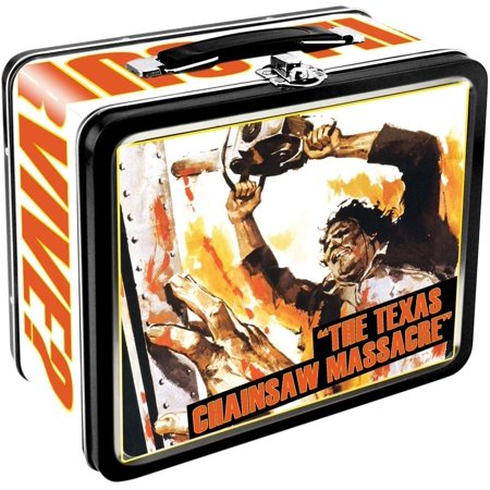 Texas Chainsaw Massacre Embossed Tin Lunch - Texas Chainsaw Massacre Mask For Sale
