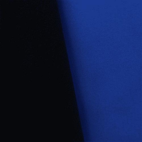 Soft Shell Fleece - Blue/Black, Fabric By the Yard