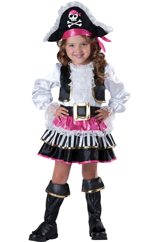 Pirate Girl Toddler Costume by InCharacter