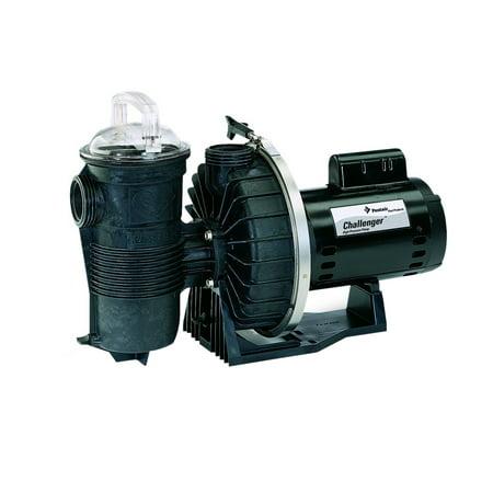 Pentair 346204 1Hp 115 230V Challenger Single Speed High Pressure Pool Pump