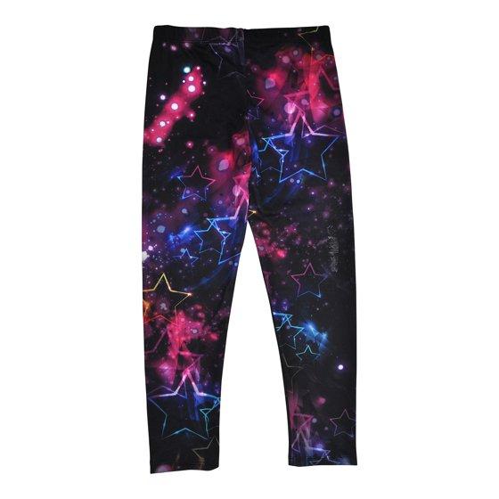 Cold Crush - Girls Glam Galaxy & Stars Stretch Leggings ...