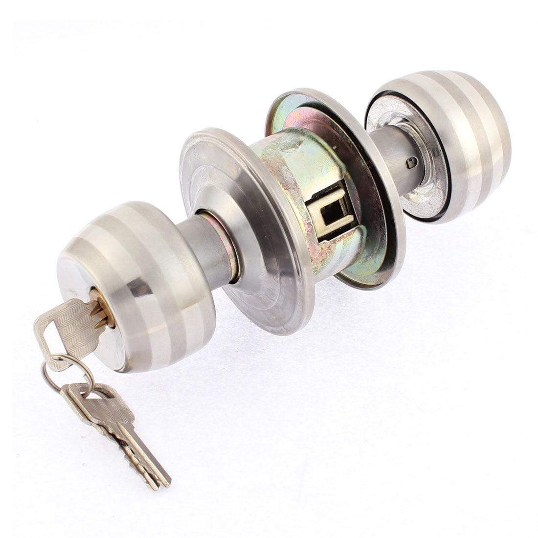 Bedroom Bathroom Door Locks with Keys Security Entry Lever Knob Handle Lockset