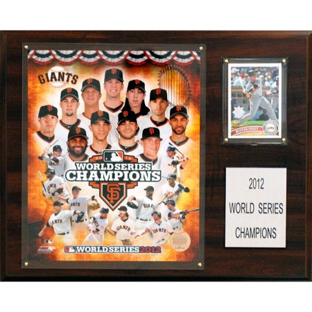 C&I Collectables MLB 12x15 San Francisco Giants 2012 World Series Champions (San Francisco Giants Win World Series 2012)