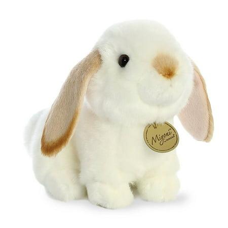 Lop Tan Ear Rabbit Miyoni 8 inch - Stuffed Animal by Aurora Plush (26314)