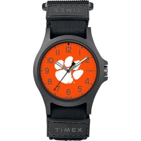 Timex - NCAA Tribute Collection Pride Men's Watch, Clemson University Tigers