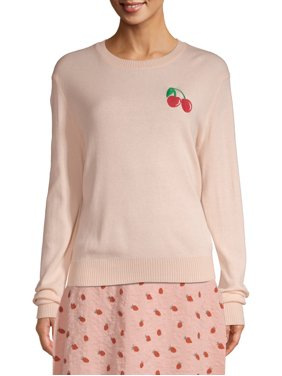 Love Sadie Women's Embroidered Sweater