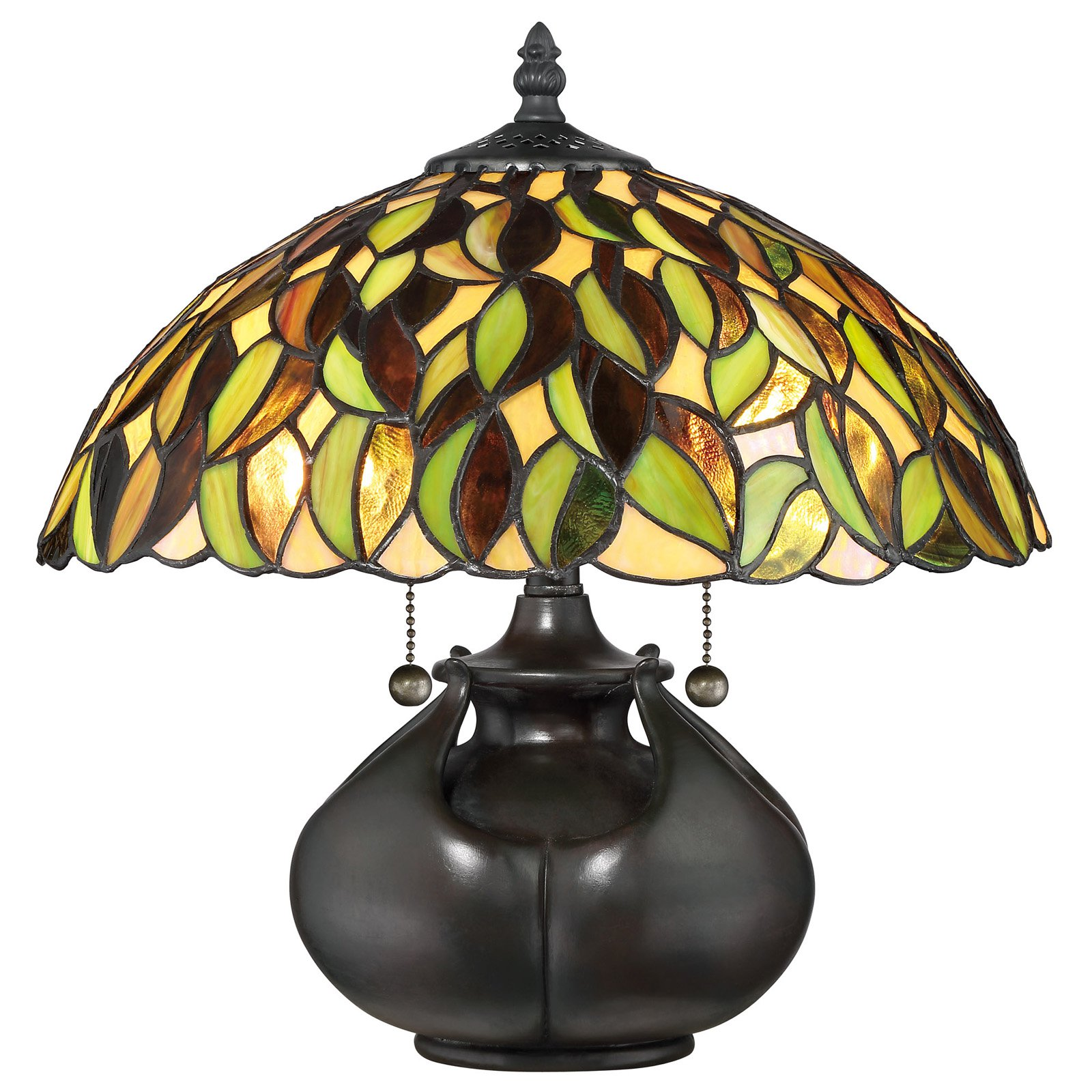 Quoizel 14.5 Tiffany Table Lamp by Quoizel