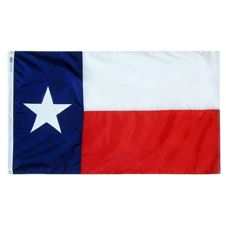 Texas State Flag 3x5 ft. Nylon Official State Design Specifications.