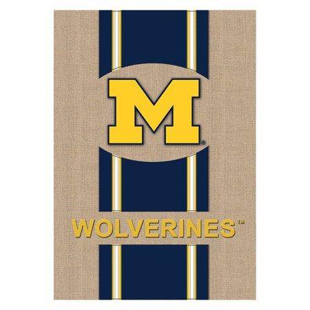 Team Sports America NCAA Burlap Flag
