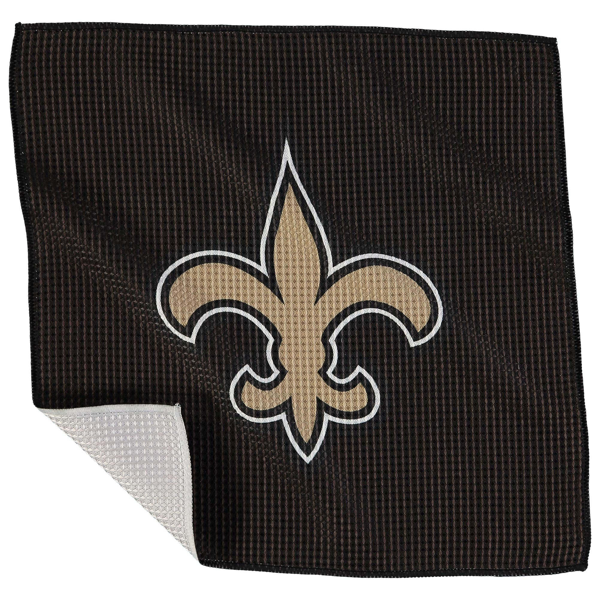 "New Orleans Saints 16"" x 16"" Microfiber Towel - No Size"