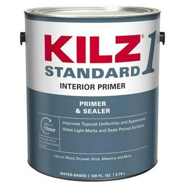 Kilz 1 Standard Interior Primer Gallon Walmart Com Walmart Com