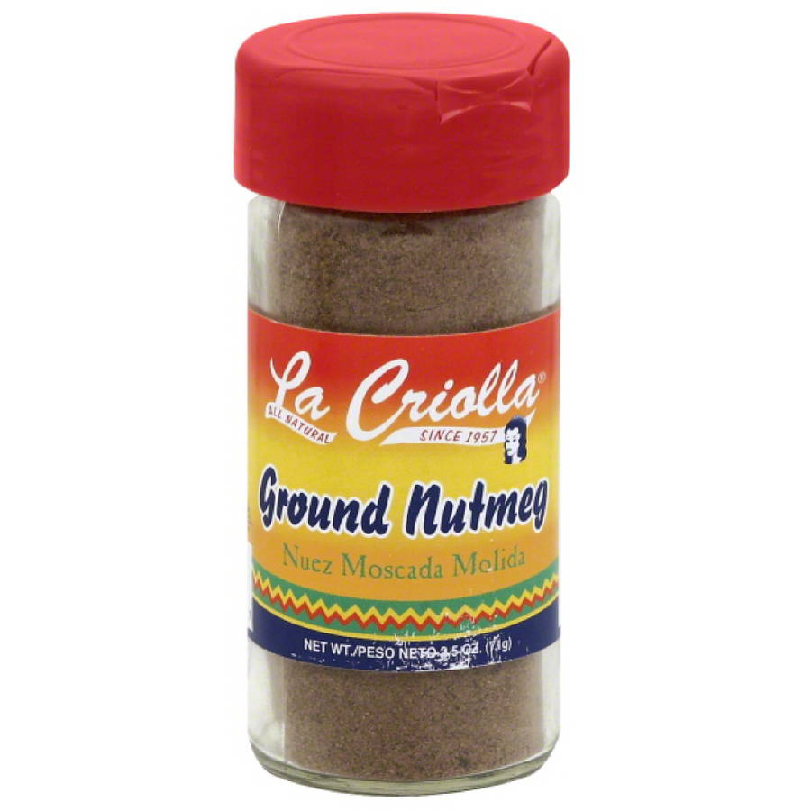 La Criolla Ground Nutmeg, 2.5 oz, (Pack of 12) by