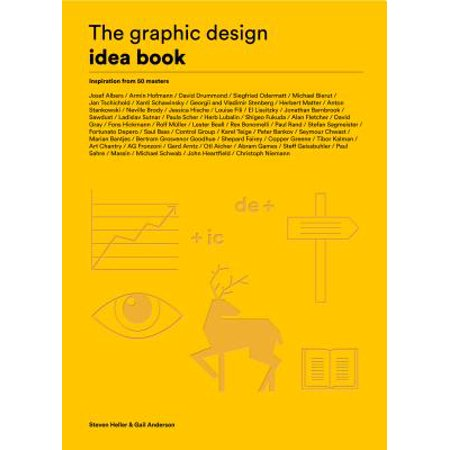 The Graphic Design Idea Book : Inspiration from 50 Masters](50 Anniversary Ideas)