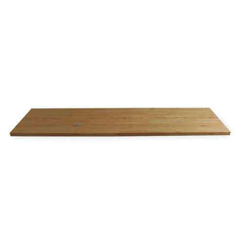 BB30120TA Workbench Top, Butcher Block, 120x30 in.
