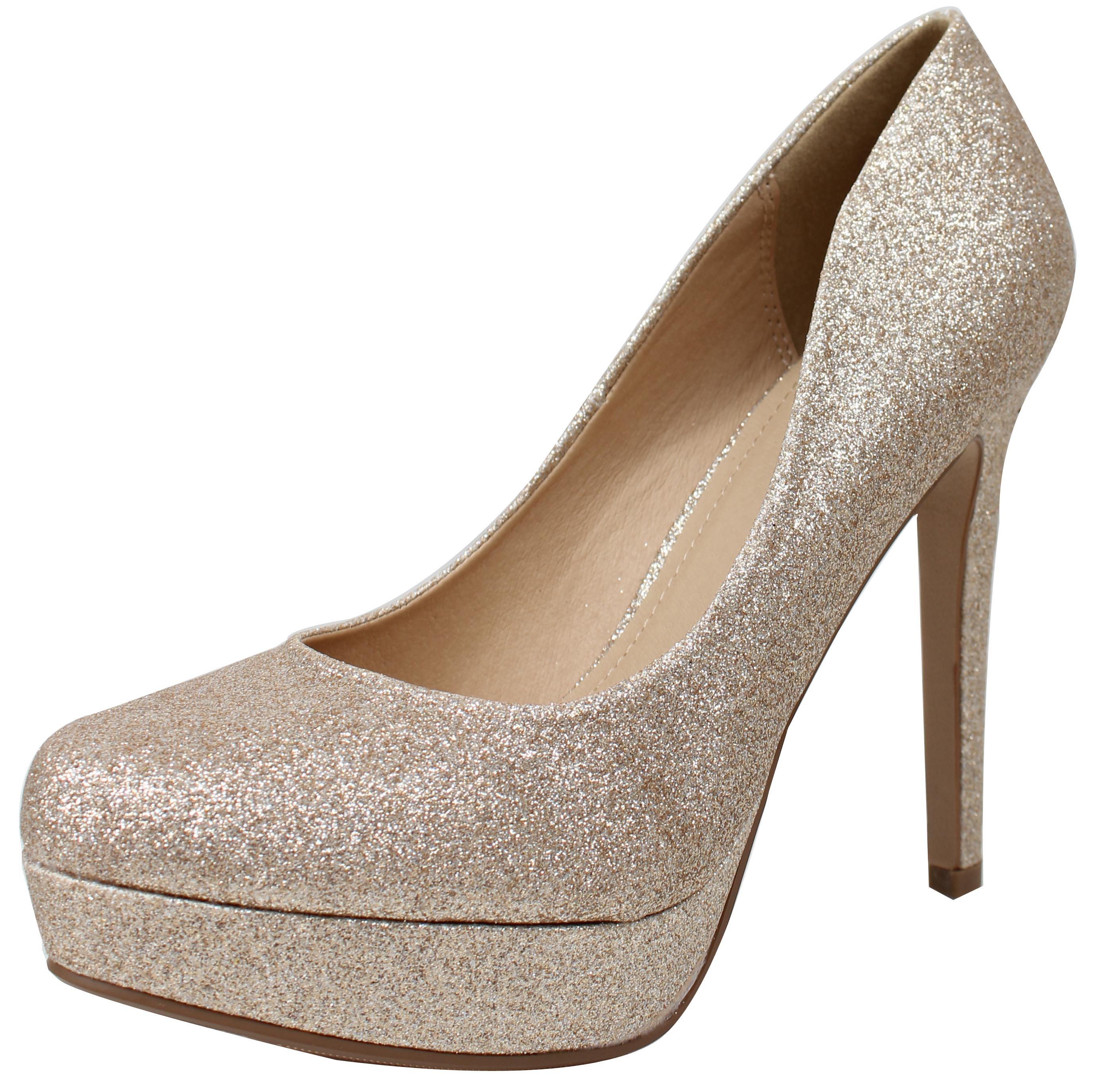 Delicious Women's Almond Shape Toe Platform Stiletto High Heel Pump