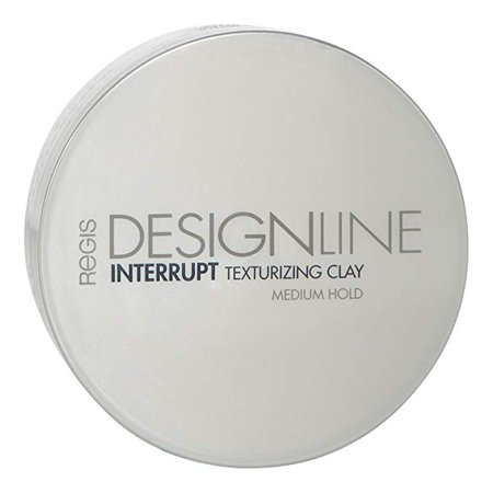 Interrupt Texturizing Clay, 2 oz - DESIGNLINE - Creates Texture, Definition, and Separation with a Medium-Hold to Add Volume for All Hair