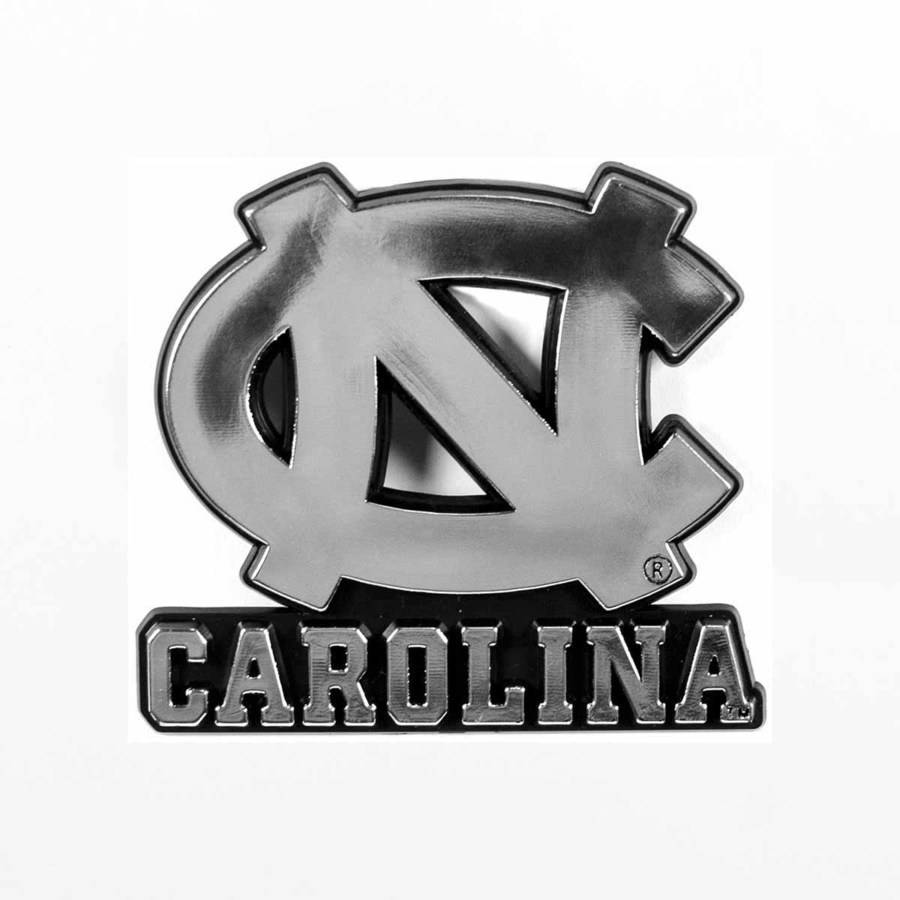 NCAA North Carolina Chrome Emblem