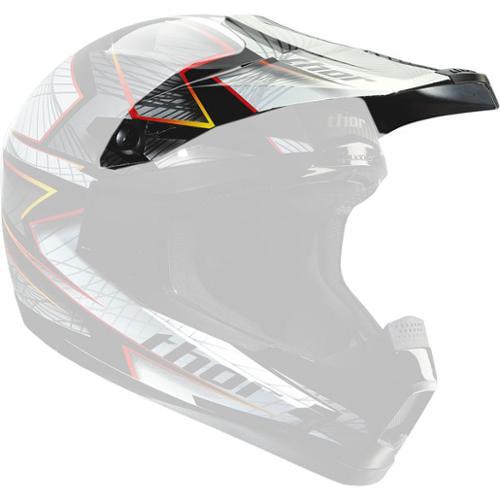Thor Quadrant S12 Replacement Visor Kit Spiral Black