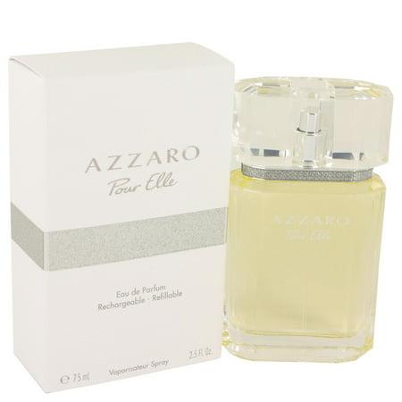Azzaro Pour Elle by Loris Azzaro for Women - 2.5 oz EDP Spray (Refillable)