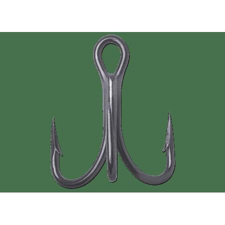 Vmc Md1 Multi Use Terminal - VMC O'Shaughnessy Treble Short 4X Strong Fishing Hooks - Model 9626 - Black Nickel - 1 - 25 Hooks